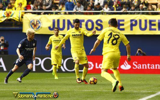 El Villarreal se atasca ante el Málaga