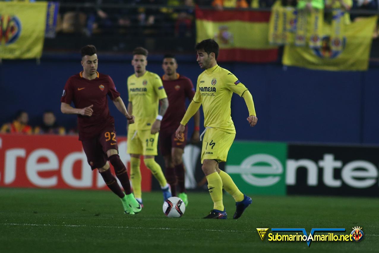 roma - El Villarreal ya no compite