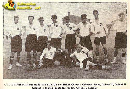 Hoy hace 96 años se constituyó el CD Villarreal
