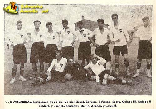 cd villarreal 1923 - Hoy hace 96 años se constituyó el CD Villarreal