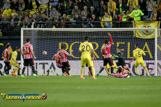 FJR42613 copia 650x433 - Todas las fotos del Villarreal-Athletic Club