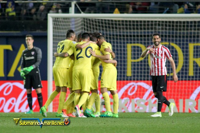 FJR42642 copia 650x433 - Todas las fotos del Villarreal-Athletic Club