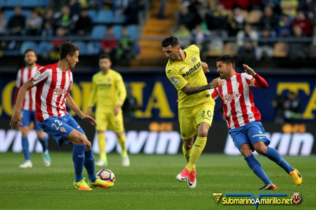 FJR43135 copia 650x433 - Las fotos del Villarreal 3-Sporting 1