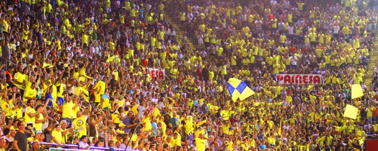 La afición del Villarreal