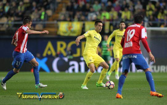 El Villarreal suma y sigue ante el Sporting