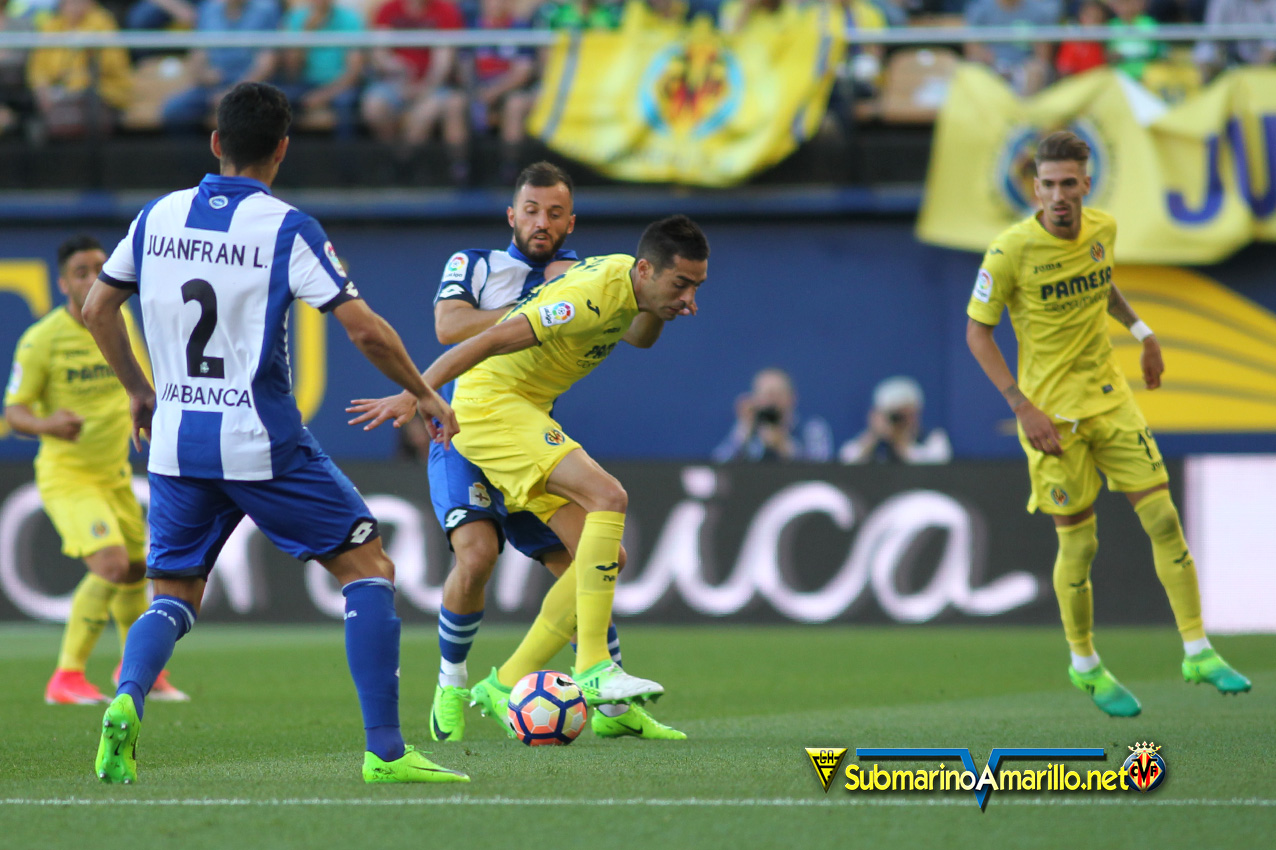 dpor - El Villarreal incapaz ante el Depor