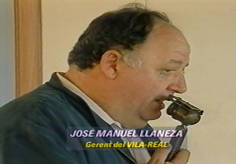Los primeros pasos de Llaneza en el Villarreal