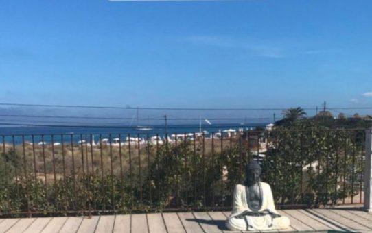 Musacchio con fascitis plantar y en Ibiza…