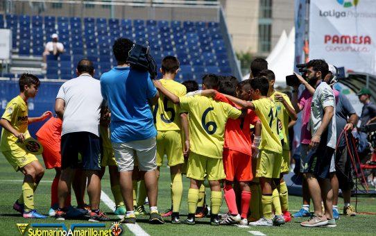 Liga Promises, fotos del Villarreal-Barça