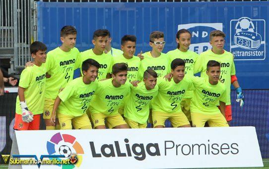 Fotos del Villarreal en la liga promises
