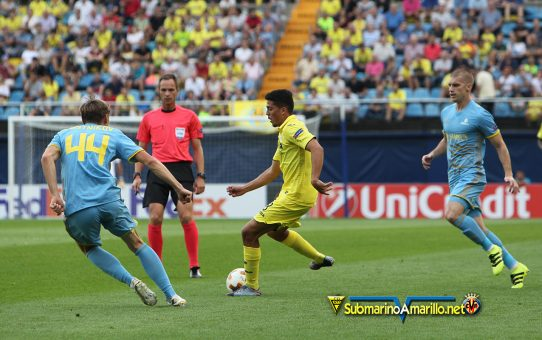 La afición inclina la balanza ante el Astana