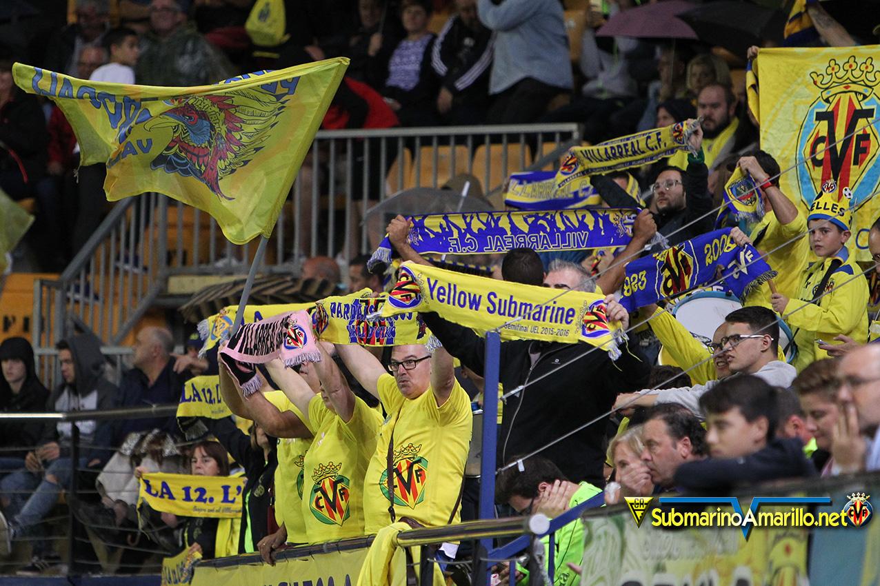 FJR48322 copia - Las fotos del Villarreal-Slavia de Praga