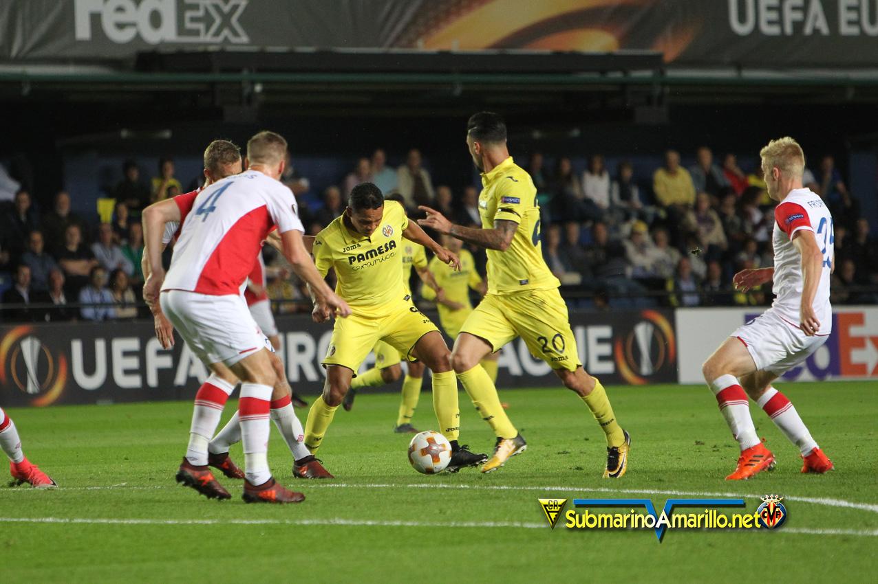 slavia - Villarreal 2-Slavia 2