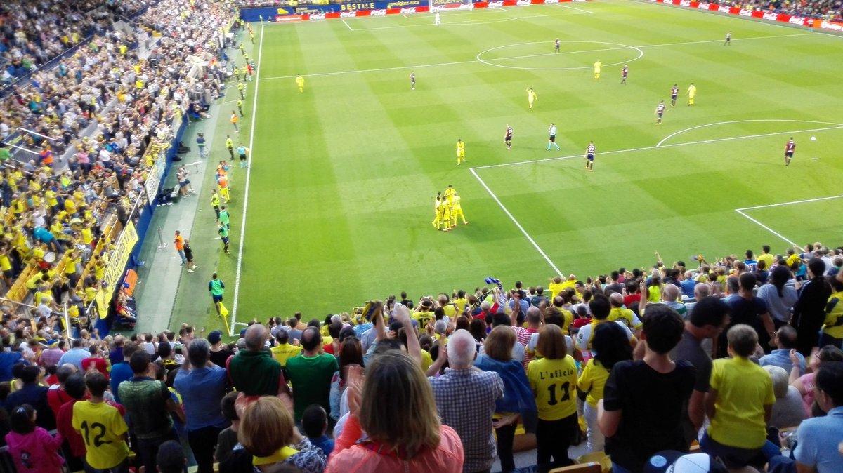 Gran victoria del Villarreal ante el Eibar
