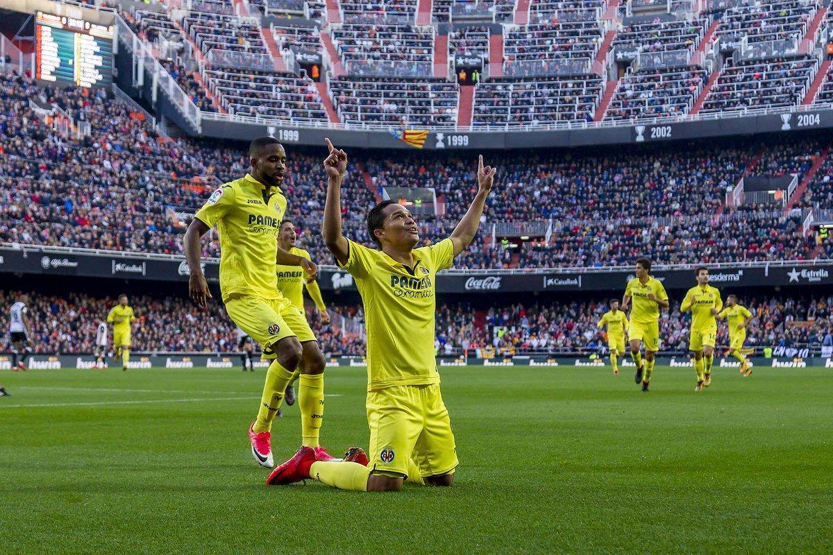 Mestalla bacca - El Villarreal un año más pone Mestalla patas arriba