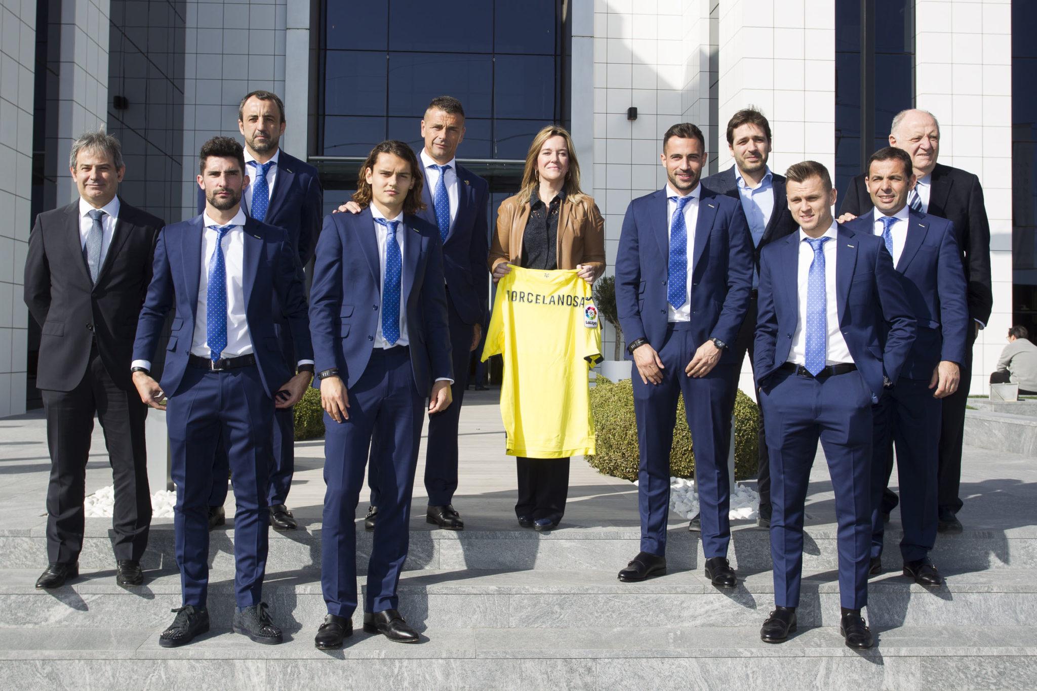 El Villarreal CF visita Porcelanosa