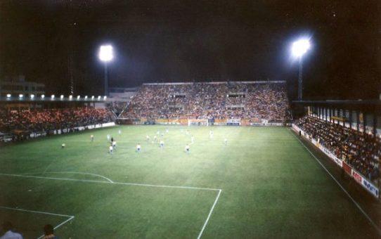 El primer partido de Primera en El Madrigal
