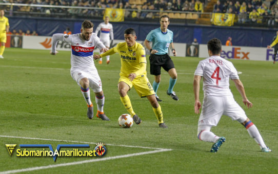 Fotos del Villarreal-Olympique