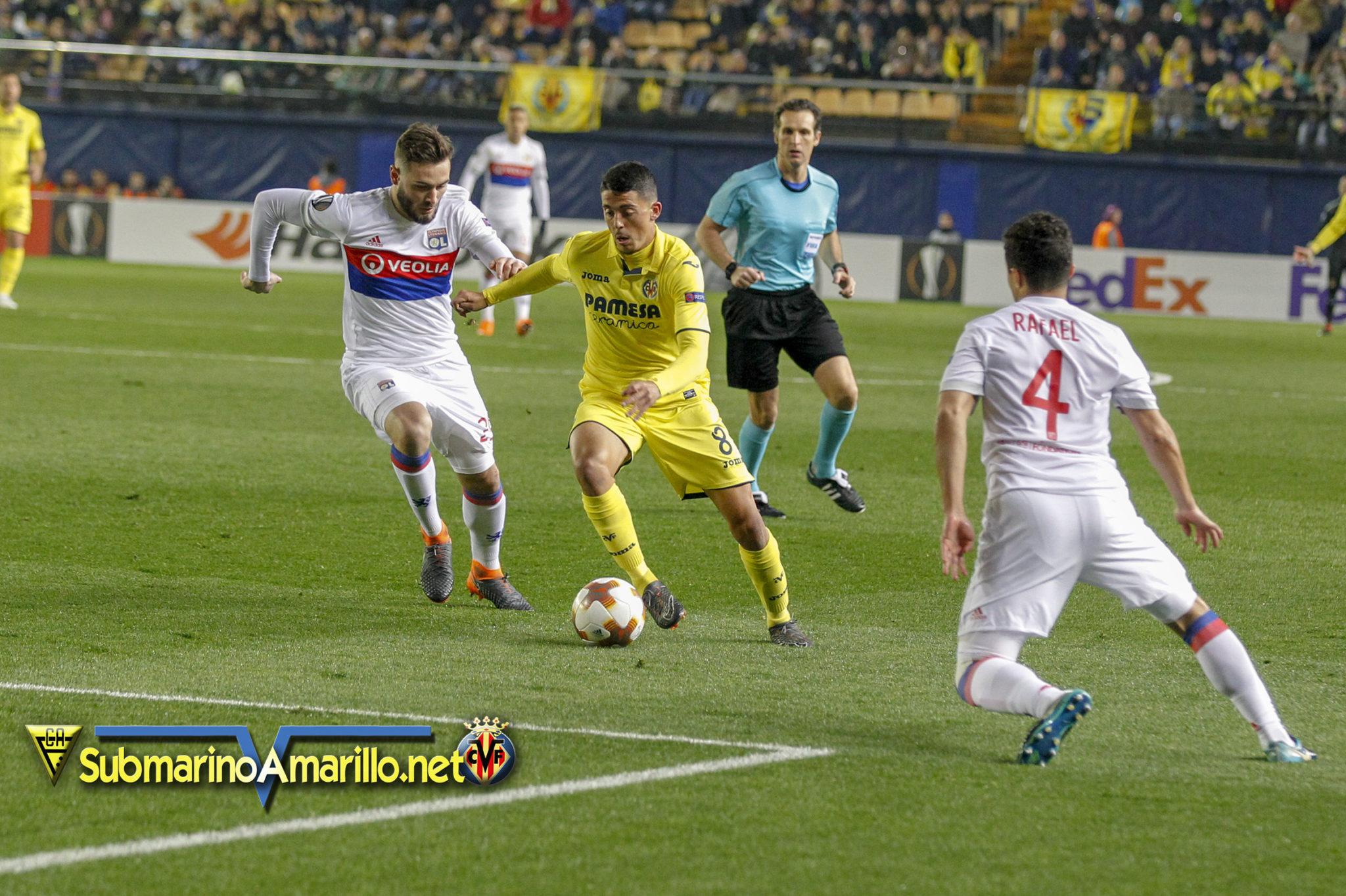 Fotos del Villarreal-Olympique