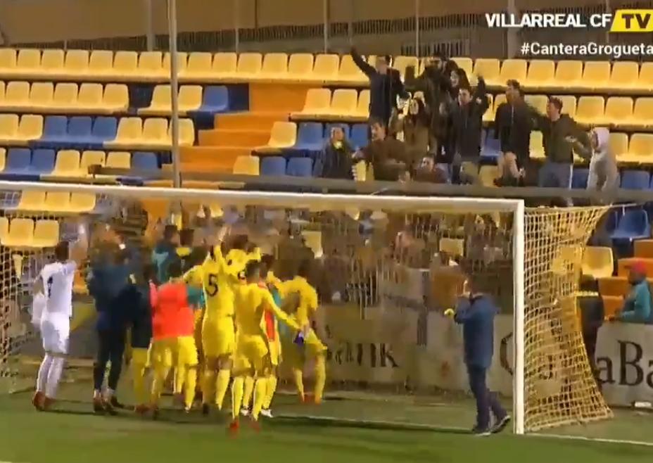 Paso de gigante del Villarreal B ante el Lleida