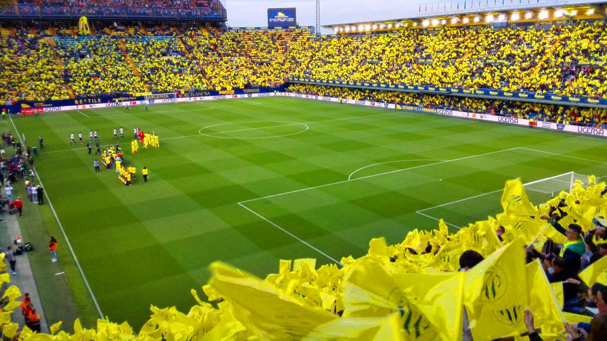 villarreal valencia - 18.000 banderas para recibir al Villarreal CF
