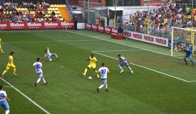 ekambi 650x378 - Villarreal 1-Zaragoza 1, un ensayo más