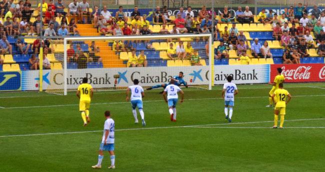 gol de gerard 650x344 - Villarreal 1-Zaragoza 1, un ensayo más