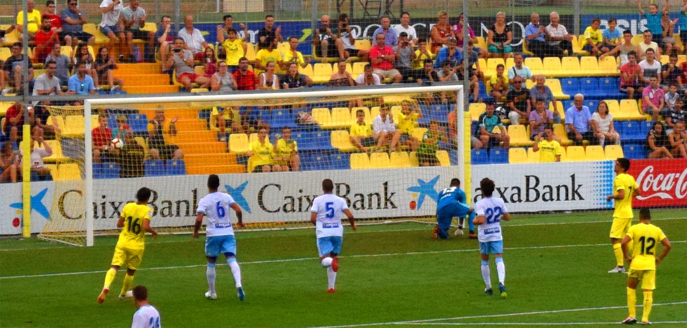 gol de gerard2 - Villarreal 1-Zaragoza 1, un ensayo más