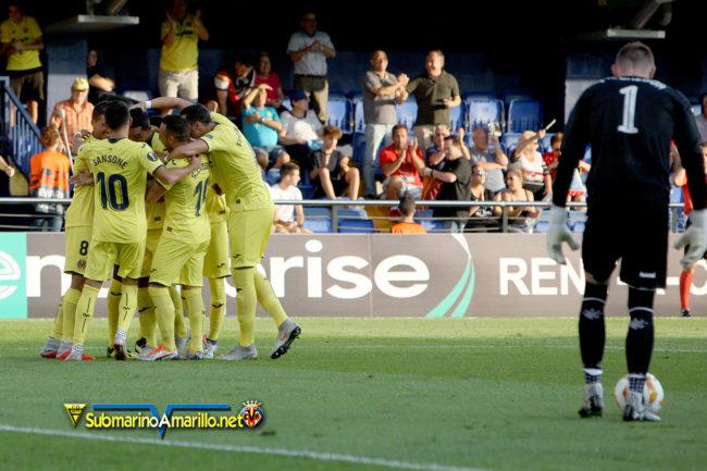 gol bacca rangers 650x433 - Galería de fotos Villarreal-Rangers