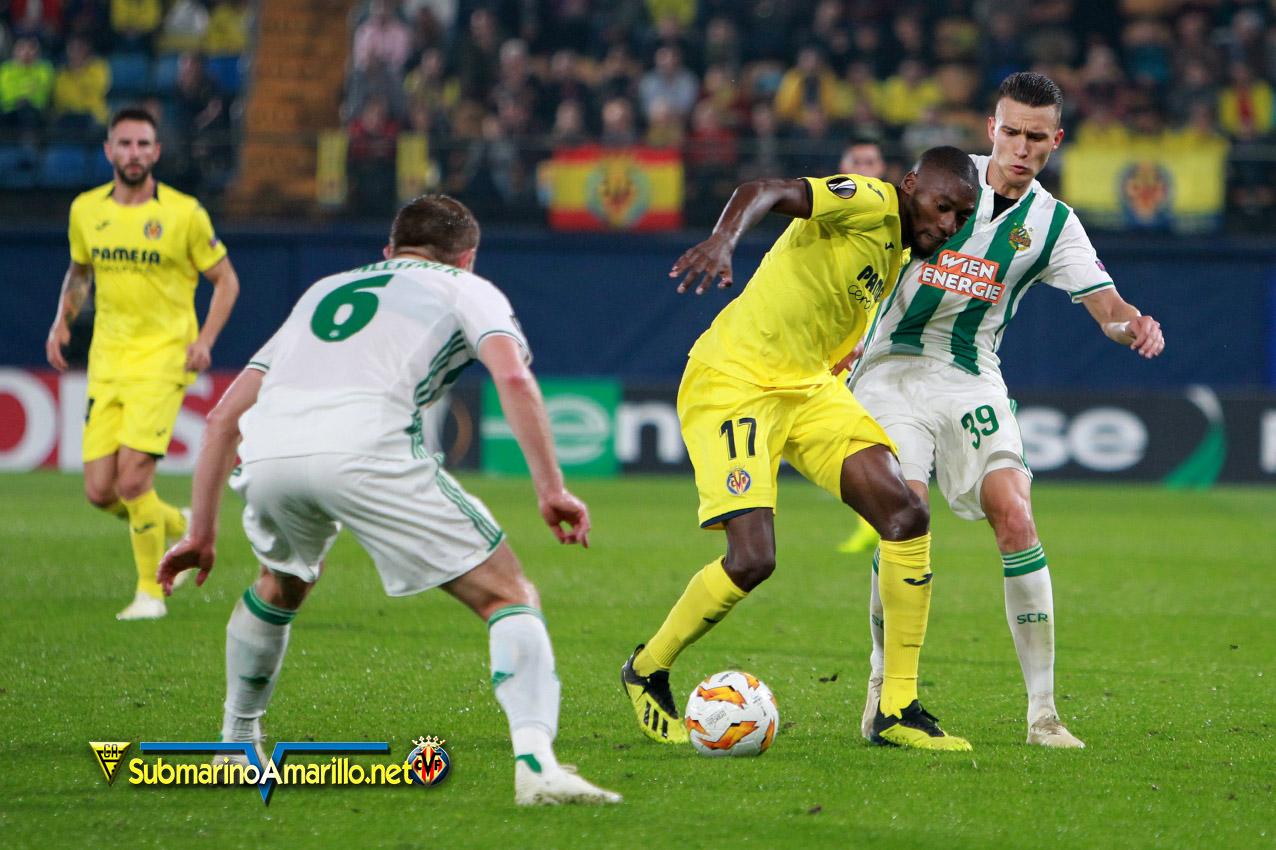RAPID - Goles y espectáculo del Villarreal ante el Rapid