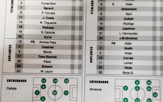 Villarreal-Atlético de Madrid EN DIRECTO