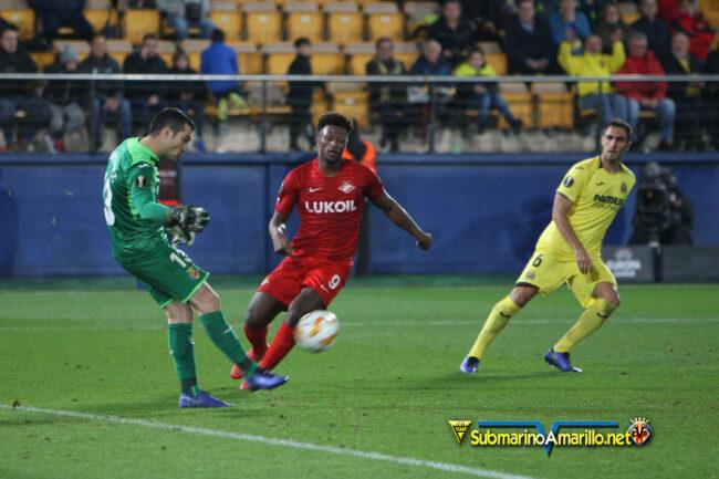 4A5O0220 650x433 - Las fotos del Villarreal-Spartak