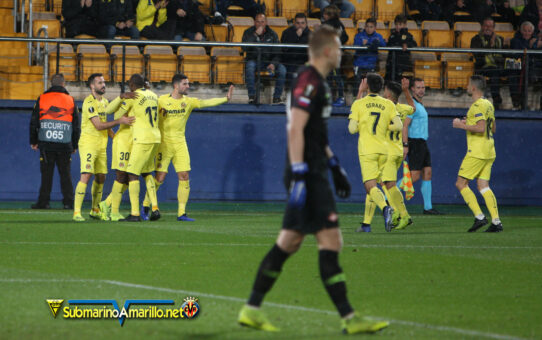 Las fotos del Villarreal-Spartak