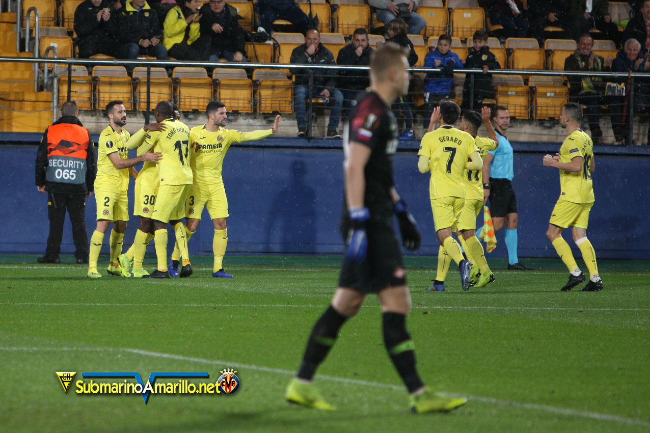 4A5O9864 - Las fotos del Villarreal-Spartak