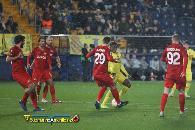 4A5O9907 650x433 - Las fotos del Villarreal-Spartak