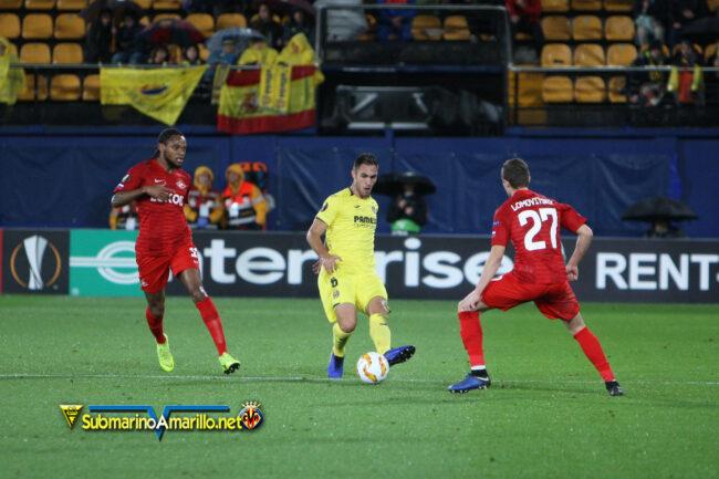 4A5O9957 650x433 - Las fotos del Villarreal-Spartak