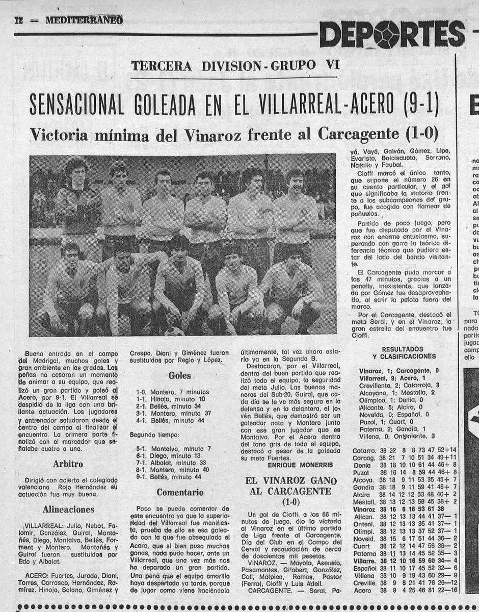 ACERO - Noche record para el Villarreal