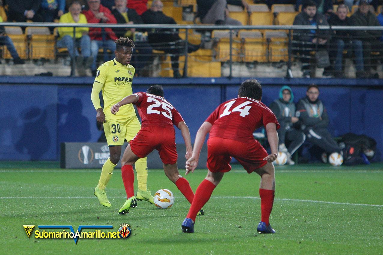 Spartak KO… y el Villarreal 1º de grupo