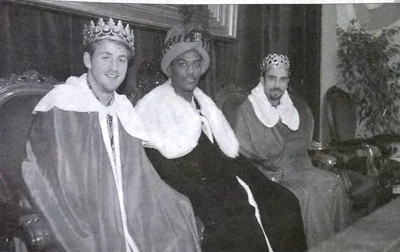 cristhiansen mafla y lakabeg reyes - El día que debutó Mafla