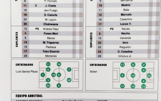 En Directo: Villarreal-Real Madrid