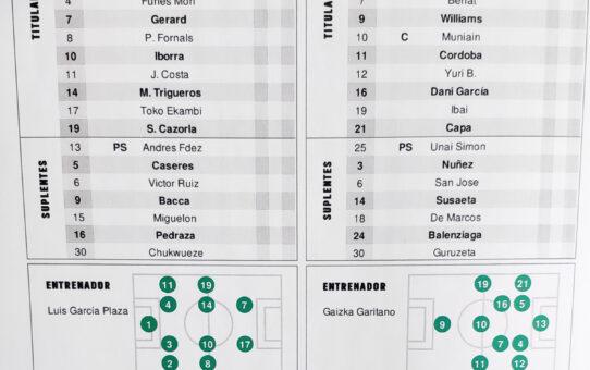 Villarreal-Athletic Club EN DIRECTO