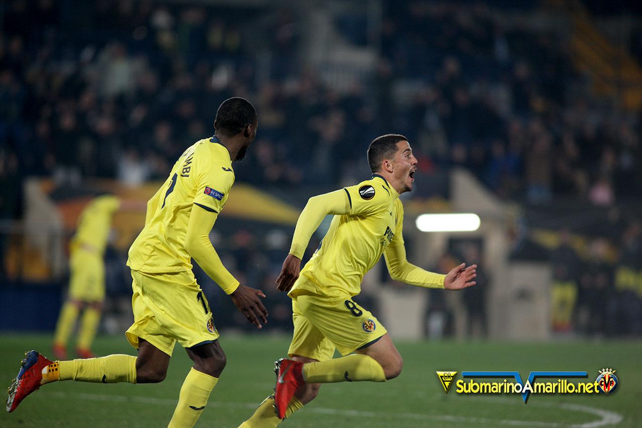 ¡¡El Villarreal a octavos!!