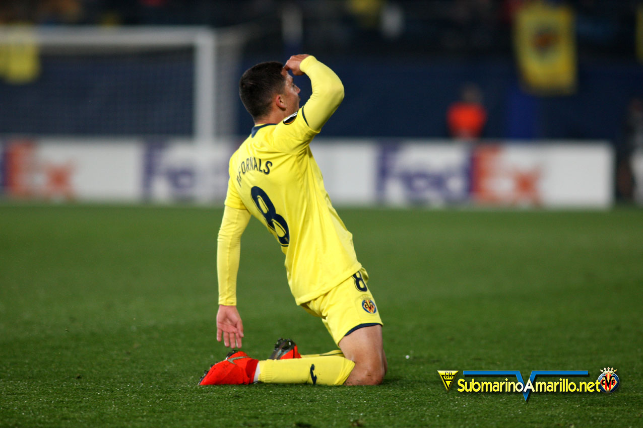 Las fotos del Villarreal-Sporting Portugal
