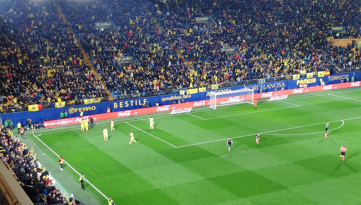 Gol Ekambi Villarreal Sevilla - Victoria sin paliativos del Villarreal ante el Sevilla