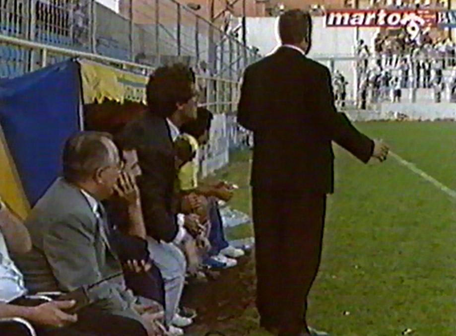 banquillo villarreal sestao 92 93 - La gran remontada para salvarse 1992-93 (2ª parte)