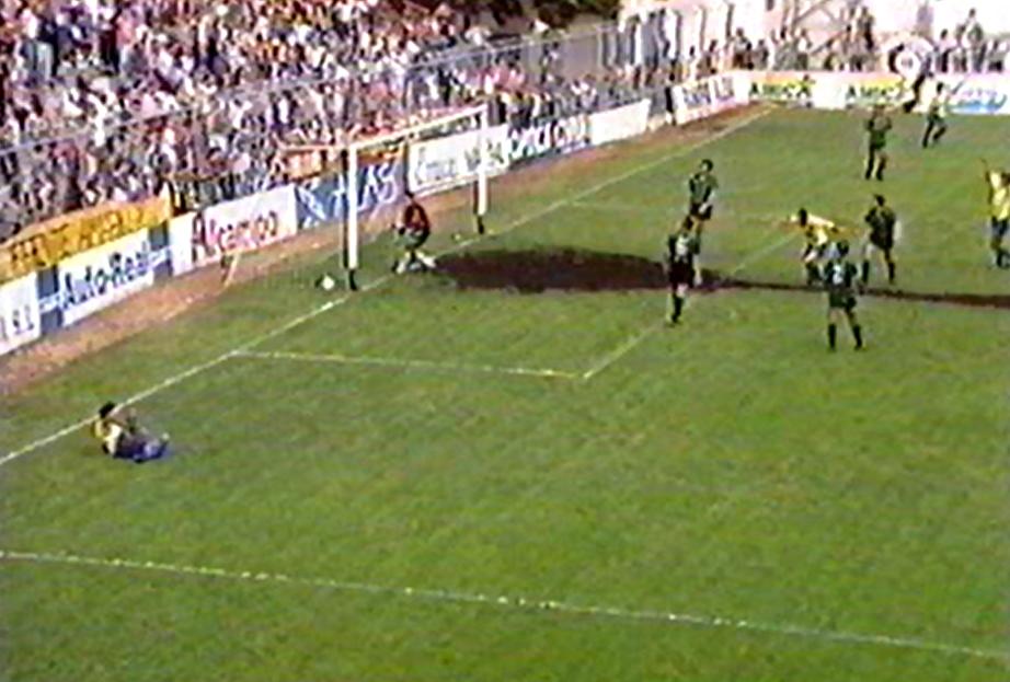 gol de alcañiz al sestao - La gran remontada para salvarse (1992-93) (3ª parte)