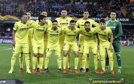 Partidos en los que el Villarreal perdía en algún momento (2018/19)