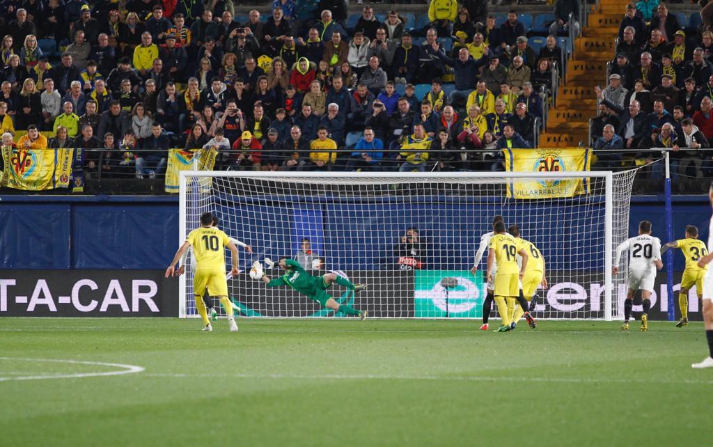 2 - xCG de los porteros del Villarreal