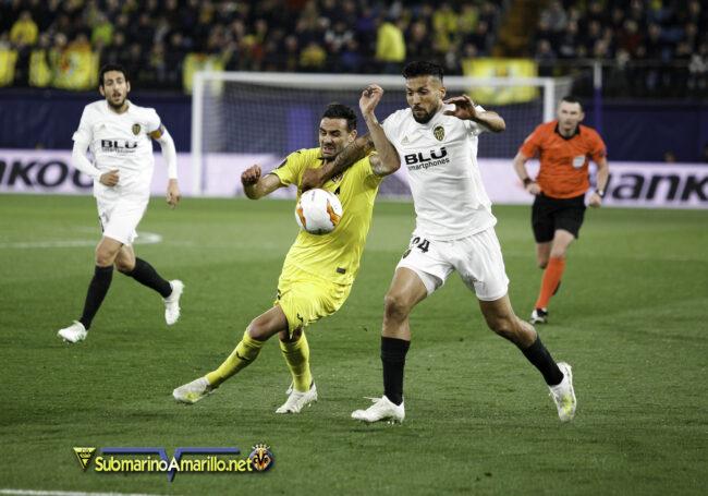 89D7752 copia 650x455 - Las fotos del Villarreal-Valencia (Europa League)