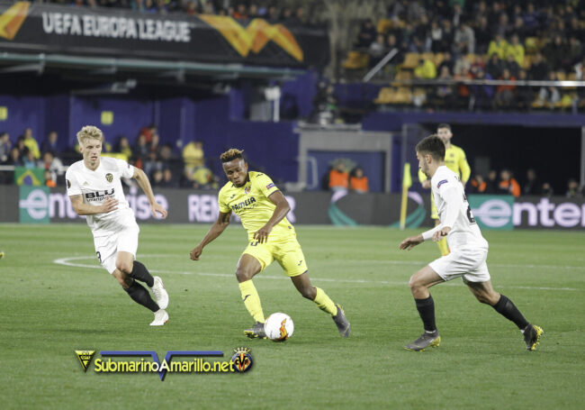 89D7869 copia 650x455 - Las fotos del Villarreal-Valencia (Europa League)